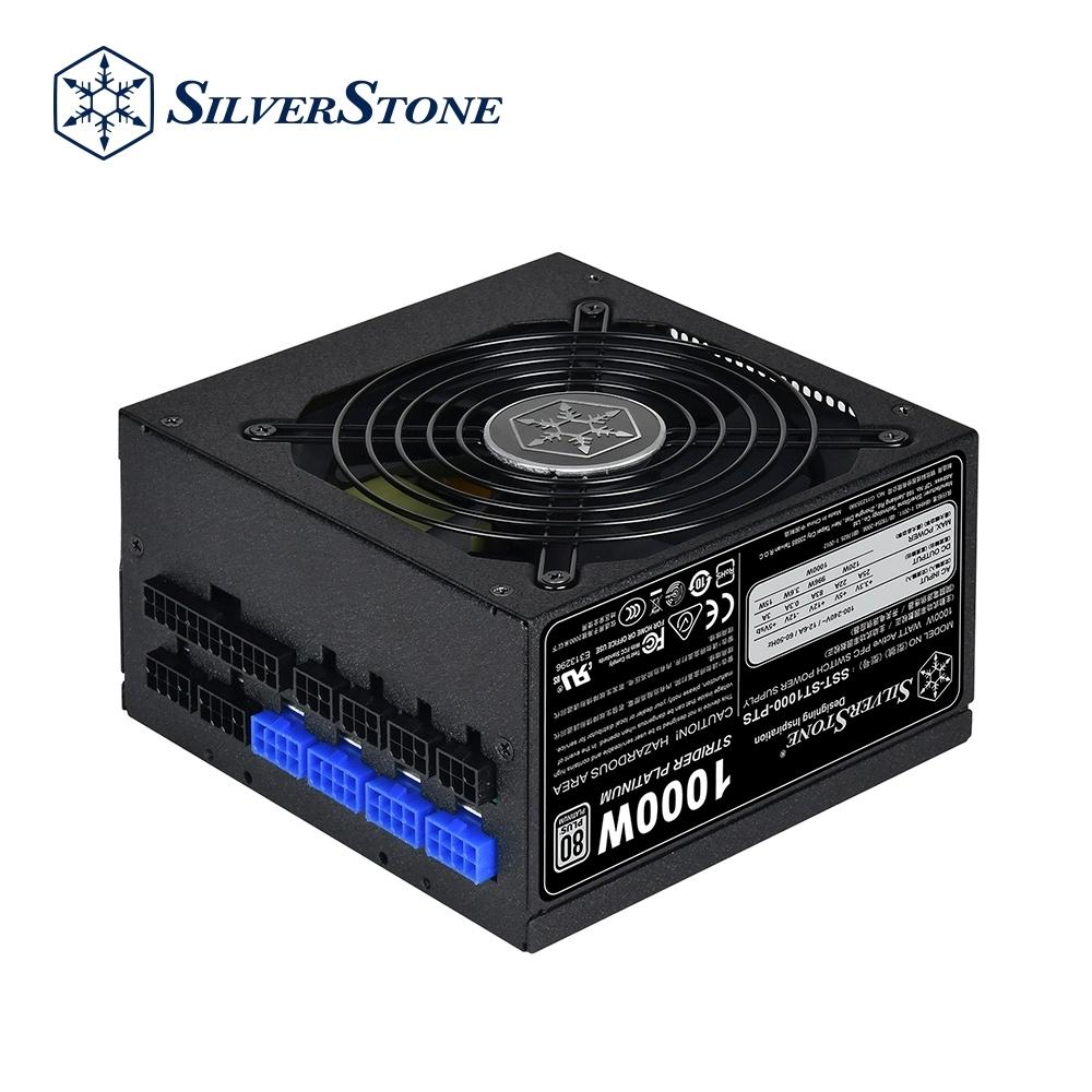 SilverStone銀欣 1200W 80 PLUS白金認證 ST1200-PTS 電源供應器