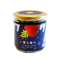 樂園樹 草莓藍莓雙果醬