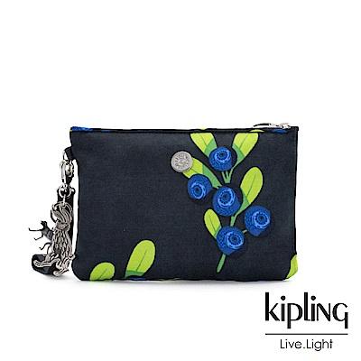 KiplingxHELEN LEE聯名款-酸甜藍莓圖騰手拿配件包-ELLETTRONICO