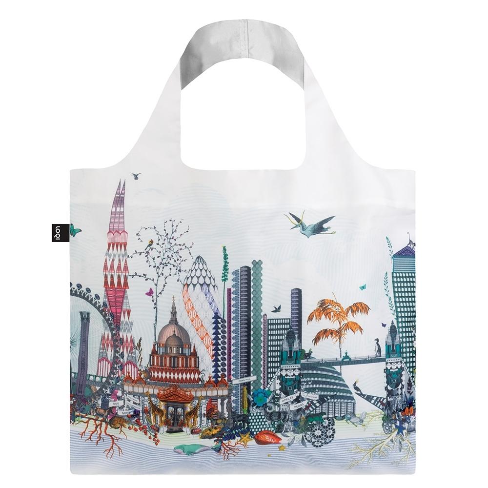 LOQI 春捲包 購物袋  倫敦世界 KWLO