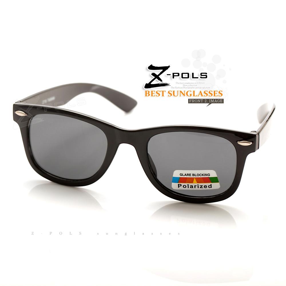 【Z-POLS】兒童專用複刻版柳釘設計 Polarized寶麗來偏光太陽眼鏡