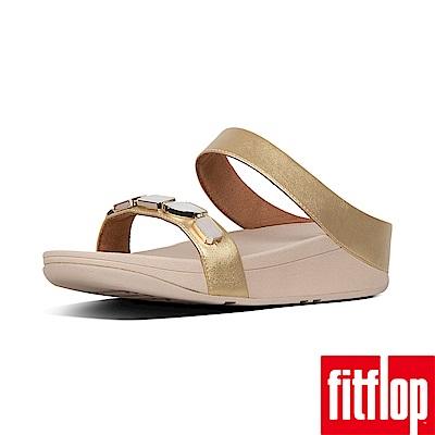 FitFlop SHELLSTONE雙帶涼鞋金色