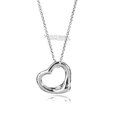 Tiffany & Co. 經典純銀愛心墜飾項鍊