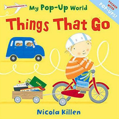 My Pop-Up World:Things That Go! 去旅行吧!立體操作書
