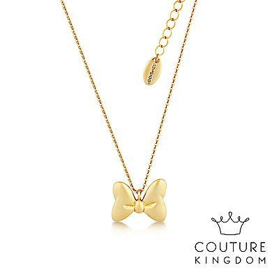 Disney Jewellery by Couture Kingdom 米妮蝴蝶結鍍金項鍊