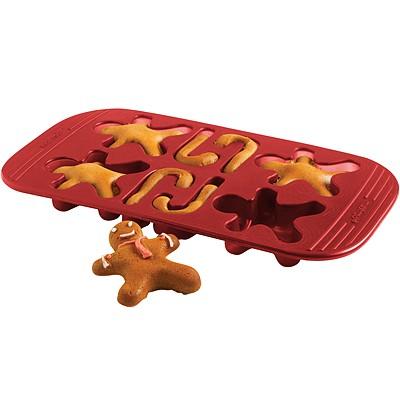 《MASTRAD》薑餅人點心烤盤(紅)