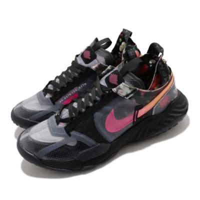Nike 休閒鞋 Delta Breathe CNY 男鞋 喬丹 舒適 避震 簡約 穿搭 中國新年 黑 粉 DD2276001