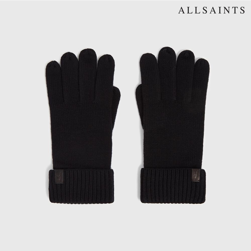 ALLSAINTS MERINO 素面純羊毛舒適手套