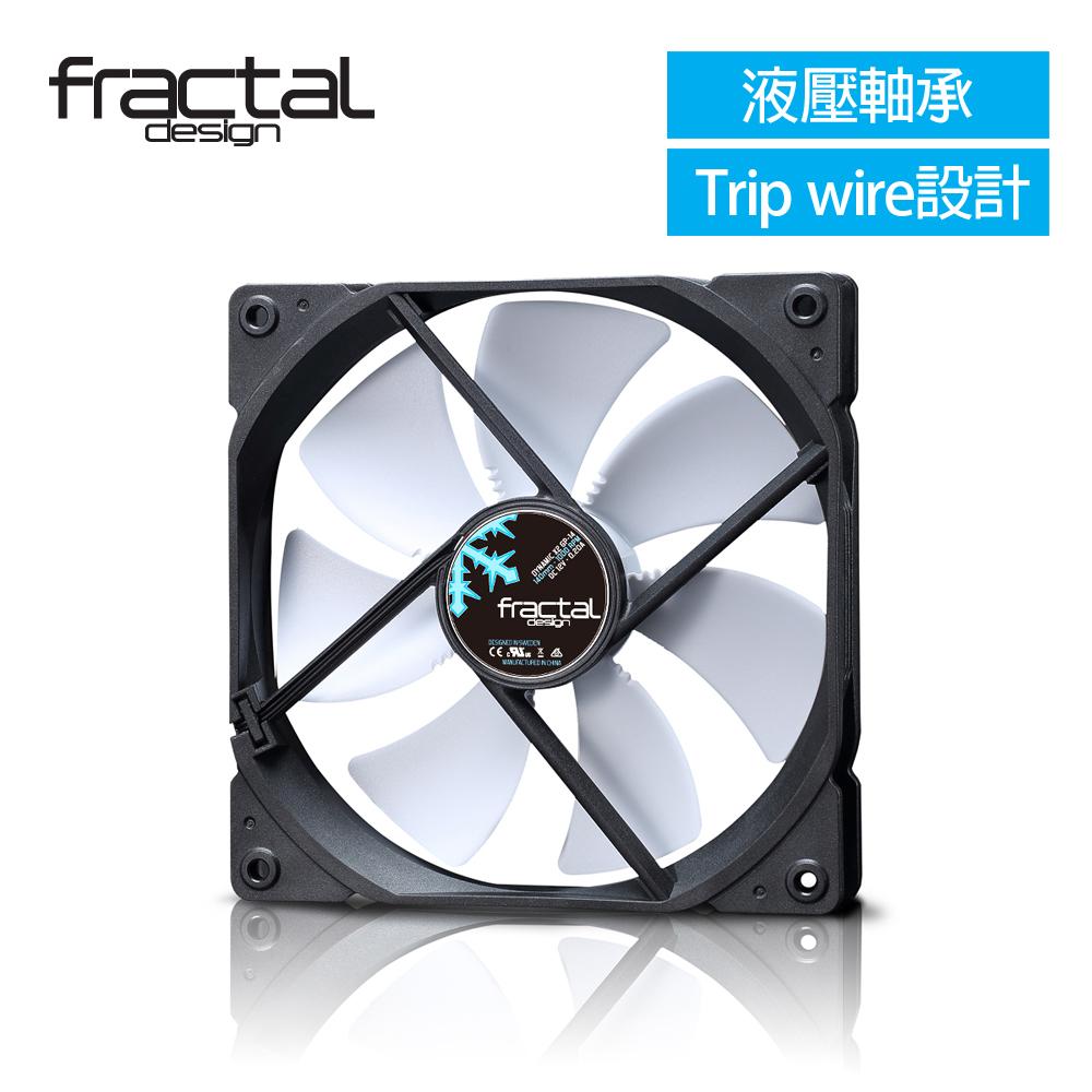 【Fractal Design】Dynamic X2 GP-14 白 機殼系統靜音風扇