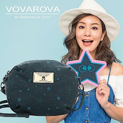 VOVAROVA x 莎莎-圓鼓鼓側背包-滿天星莎-環遊世界系列