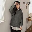 東京著衣 冬日必備針織多色圓領鬆軟長袖毛衣(共三色)