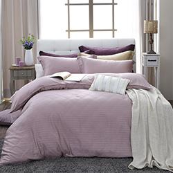 LASOL睡眠屋-100%奧地利天絲 單人兩用被床包三件組自然純色夢幻紫
