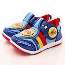 麵包超人童鞋 2E電燈透氣鞋款 EI0436藍(中小童段)