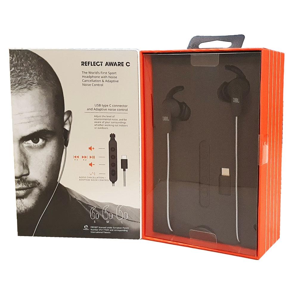 JBL主動式降噪耳機(黑)