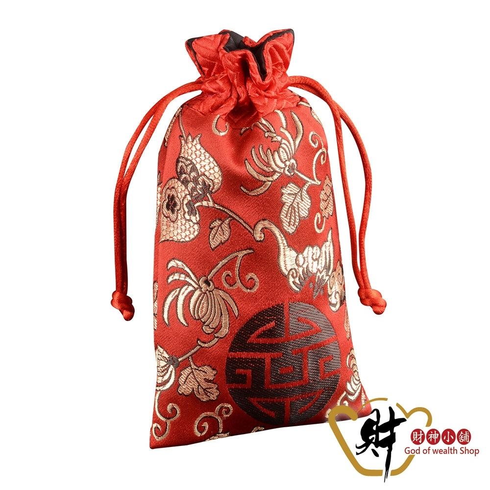 財神小舖 生肖蛇 十二生肖開運祈福福袋-紅 (含開光) SM-0012-6