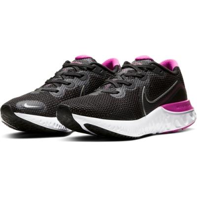 NIKE 慢跑鞋 女鞋 輕量  路跑 運動鞋 黑 桃 CK6360004  RENEW RUN