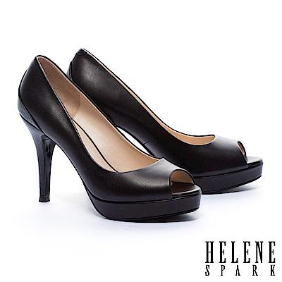 高跟鞋-HELENE-SPARK-典雅魅力壓紋拼接
