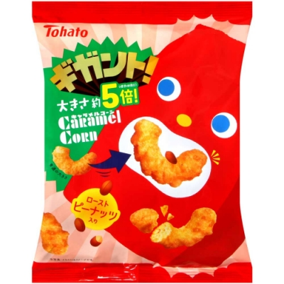 Tohato 超大焦糖玉米脆果 (92g)
