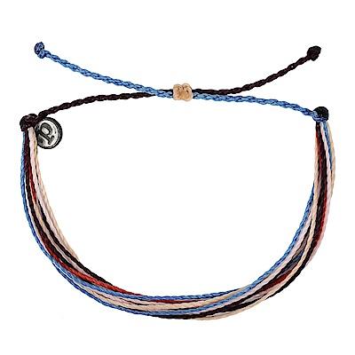 Pura Vida 美國手工 紅粉藍色系 基本繽紛款可調式手鍊