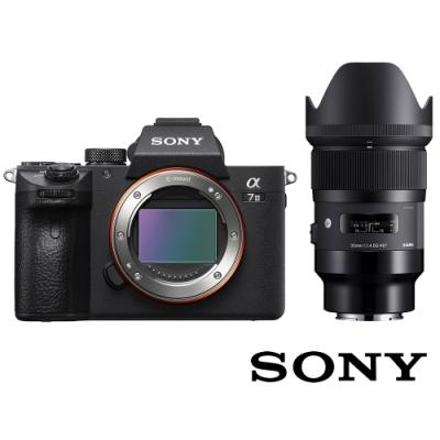 SONY A7III (A7M3) 單鏡組附 SIGMA 35mm F1.4 鏡頭 公司貨