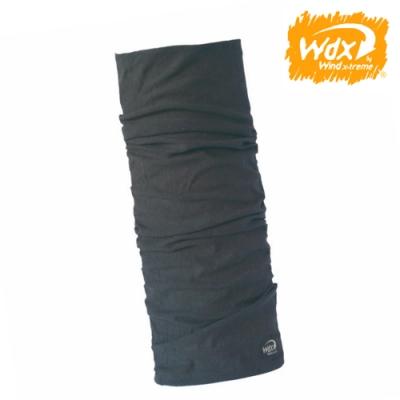 【Wind x-treme】美麗諾羊毛保暖多功能頭巾 5013 深灰(透氣、圍領巾、西班牙)