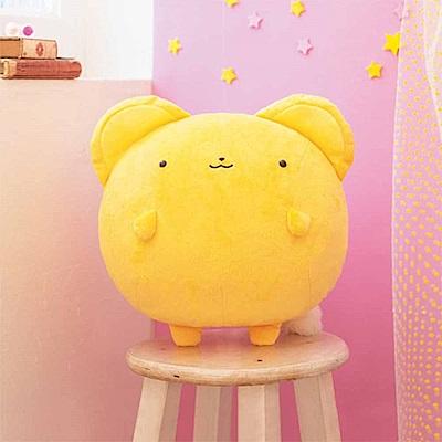 日本進口日版 景品 庫洛魔法使 超圓 小可 可魯貝洛斯 絨毛娃娃 30CM