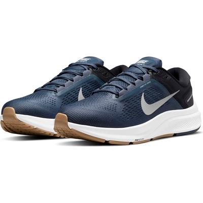NIKE 耐吉 慢跑鞋 運動鞋 緩震 男鞋 藍 DA8535-400 AIR ZOOM STRUCTURE 24