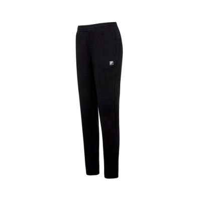 FILA 女針織長褲-黑色 5PNT-5315-BK