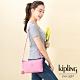 Kipling 甜美糖果粉雙袋斜背小包-MIKAELA product thumbnail 1