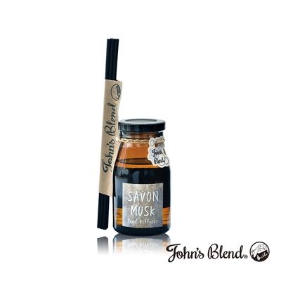 John's Blend 室內香氛擴香瓶-麝香皂香