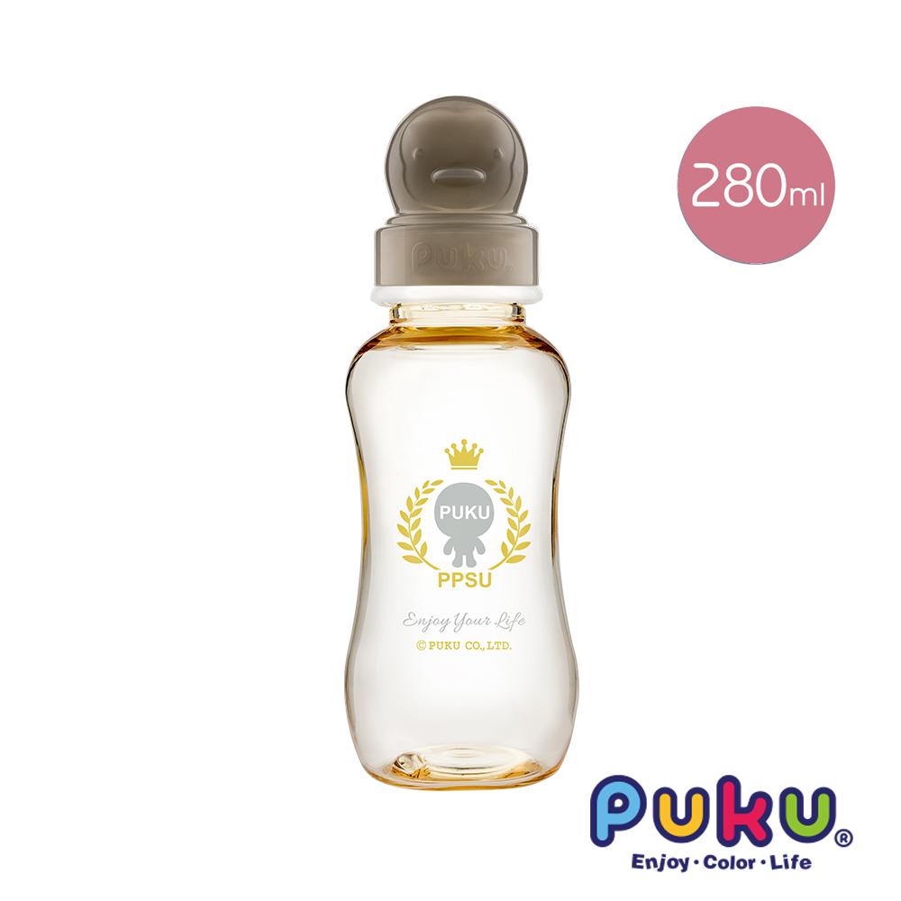 【PUKU】PPSU母乳實感標準奶瓶280ML