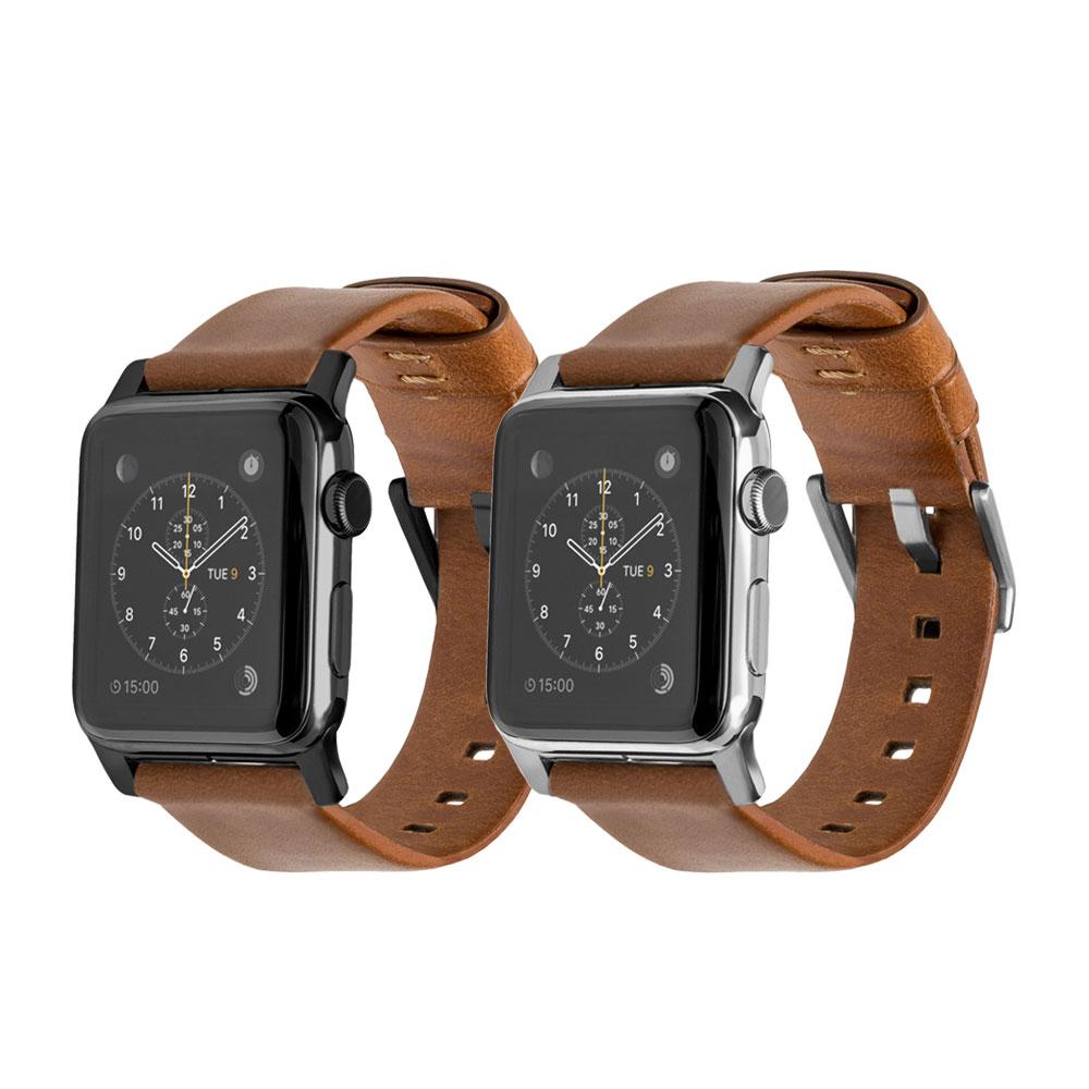 美國NOMADxHORWEEN皮革 Apple Watch 42/44mm錶帶-摩登款 @ Y!購物