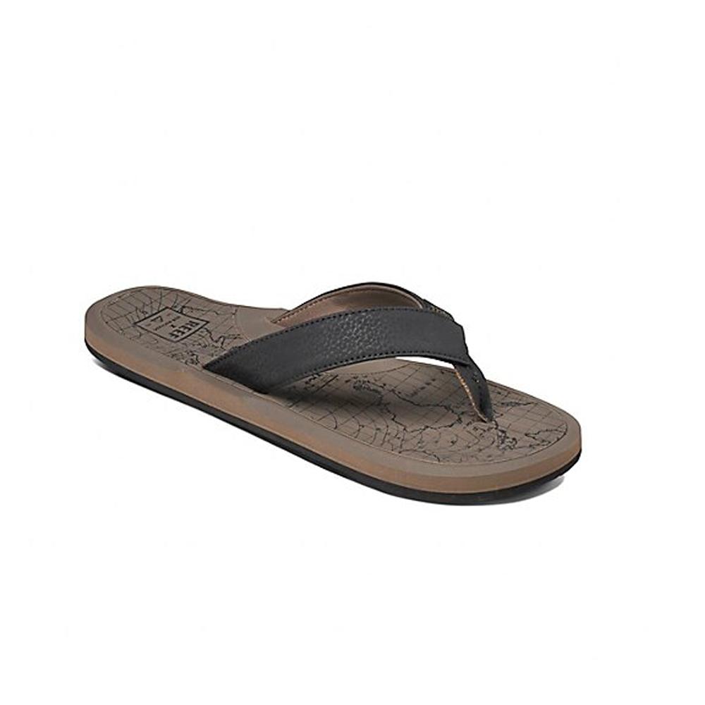 REEF 拖鞋 科技織帶輕量人體工學男款夾腳拖 黃褐 RF0A2T2DTMA
