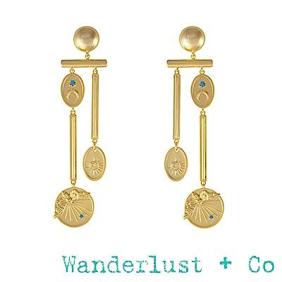 Wanderlust+Co 幻想曲耳環