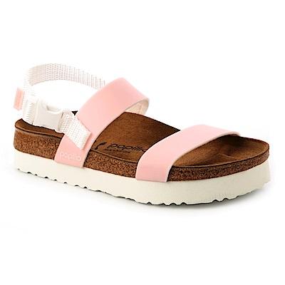 勃肯Papillio 1009217。CAMERON卡梅倫 二條繫踝拖鞋 (粉紅)