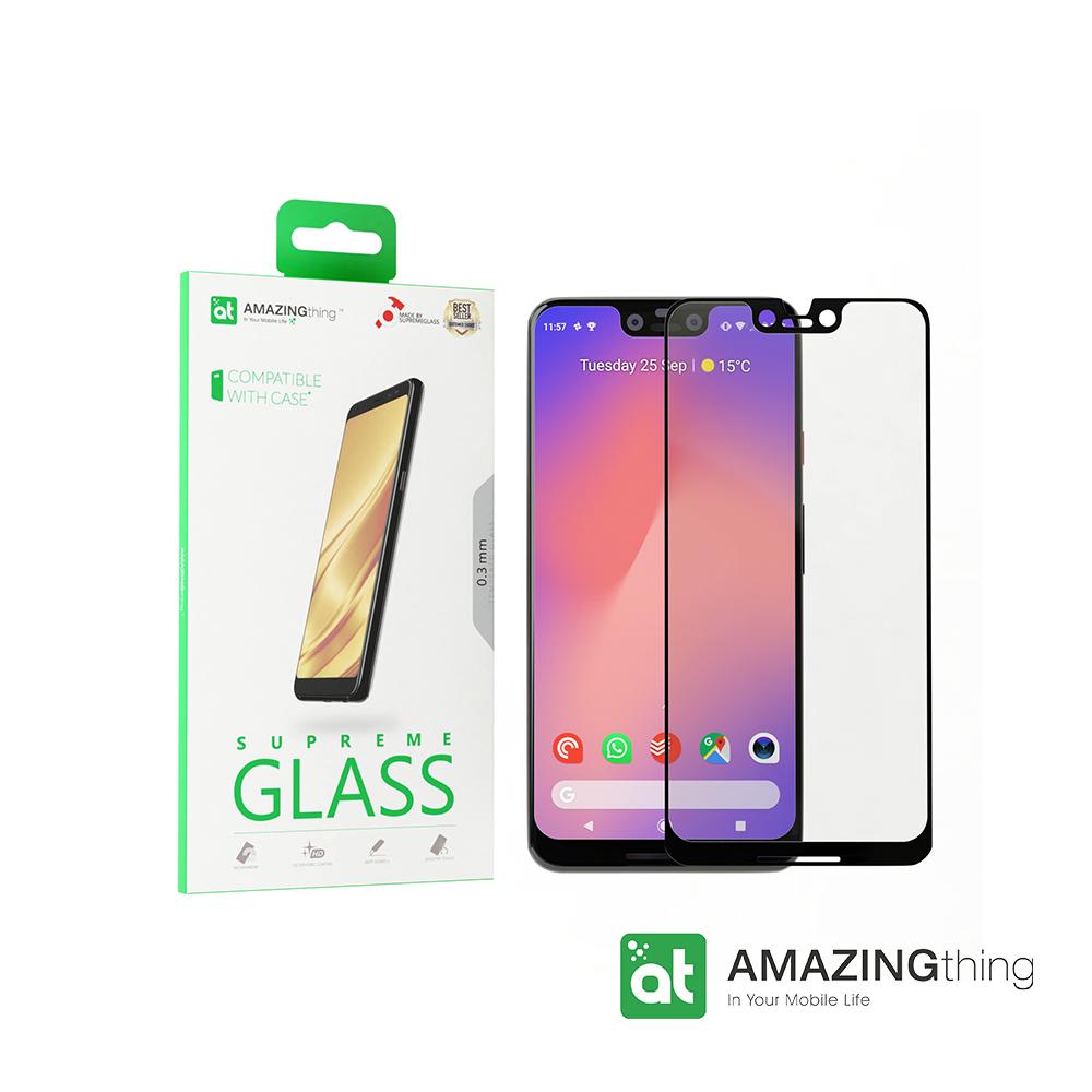 AMAZINGthing Google Pixel 3 XL滿版強化玻璃保護貼