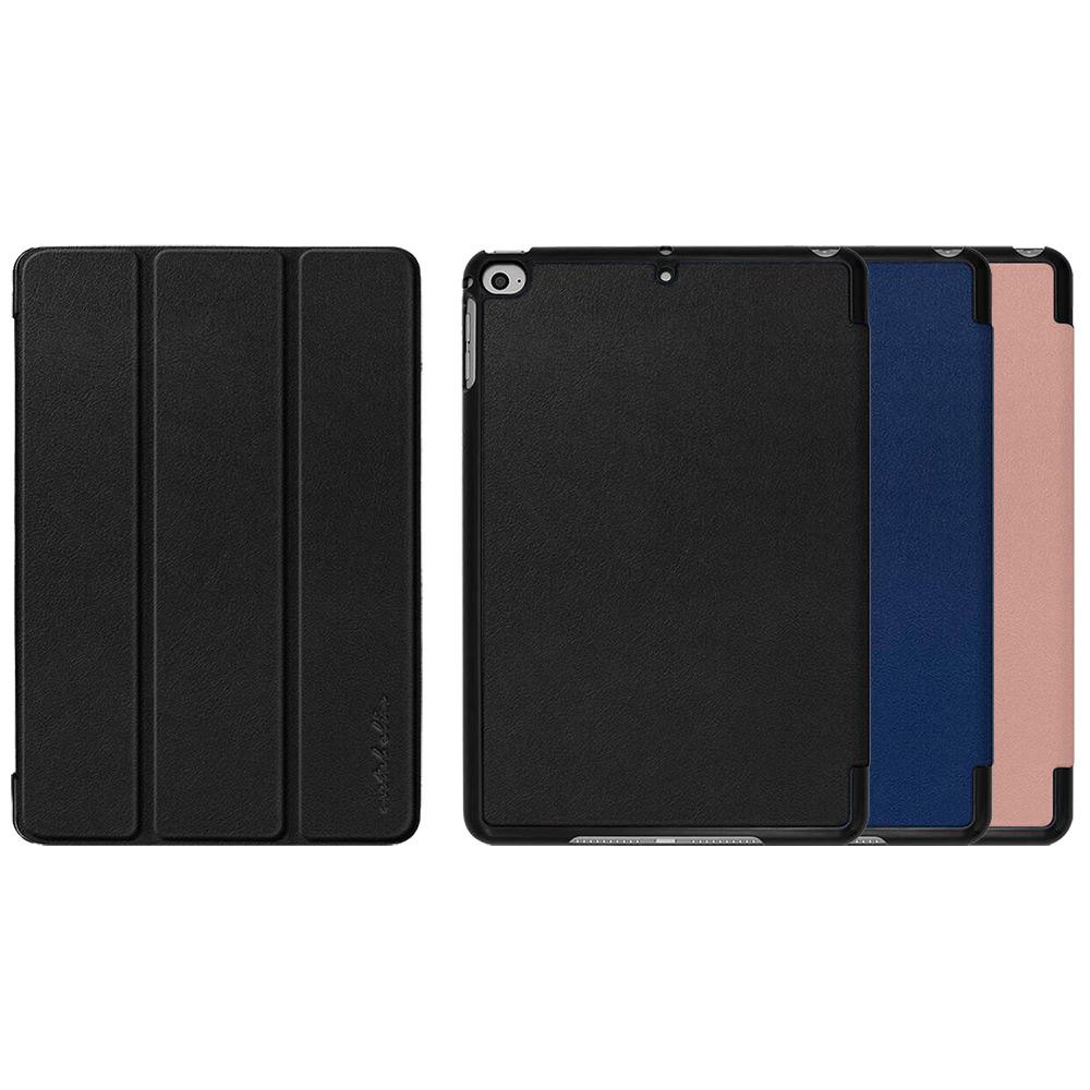 Metal-Slim Apple iPad mini 2019 仿牛皮三折站立皮套