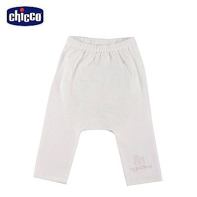 chicco-透氣素色初生褲-米(3-6個月)