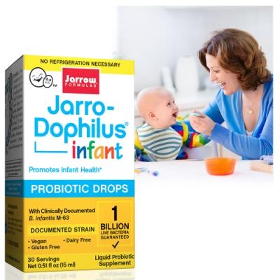 Jarrow賈羅公式 杰嘟菲兒M-63嬰兒益生菌滴液(15ml/瓶)