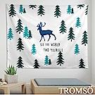 TROMSO 北歐時尚生活掛毯-D301麋鹿森林