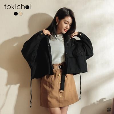 東京著衣 中性帥氣雙口袋牛仔外套(共二色)