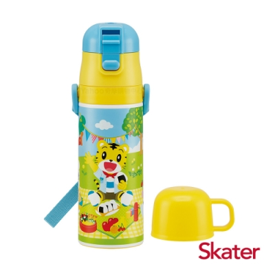 Skater 不鏽鋼2WAY水壺-巧虎