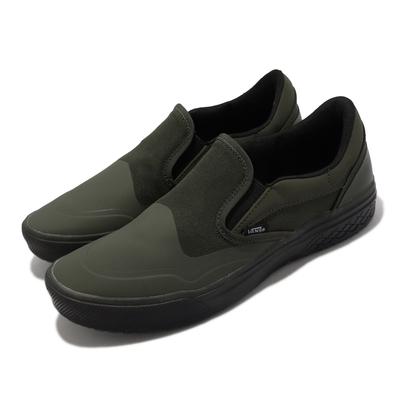 Vans 休閒鞋 Mod Slip-On 懶人鞋 男鞋 防潑水 緩震 果凍底 好穿脫 綠 黑 VN0A4TZZ1WN