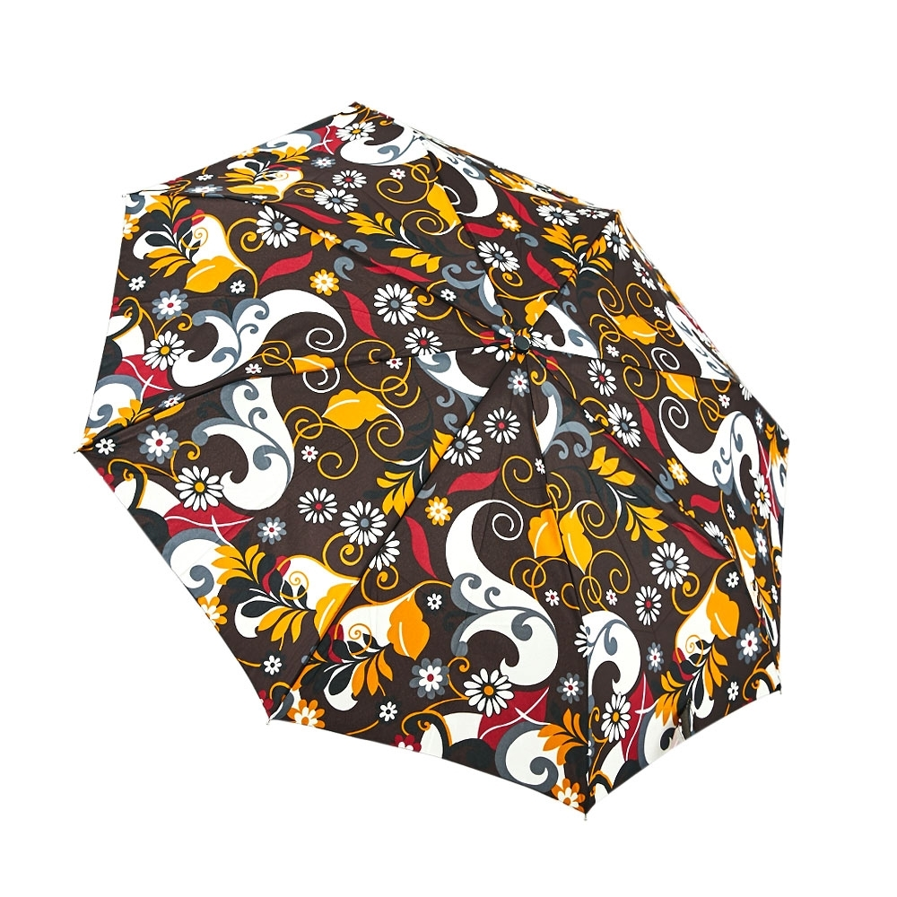 RAINSTORY花漾世界抗UV隨身自動傘