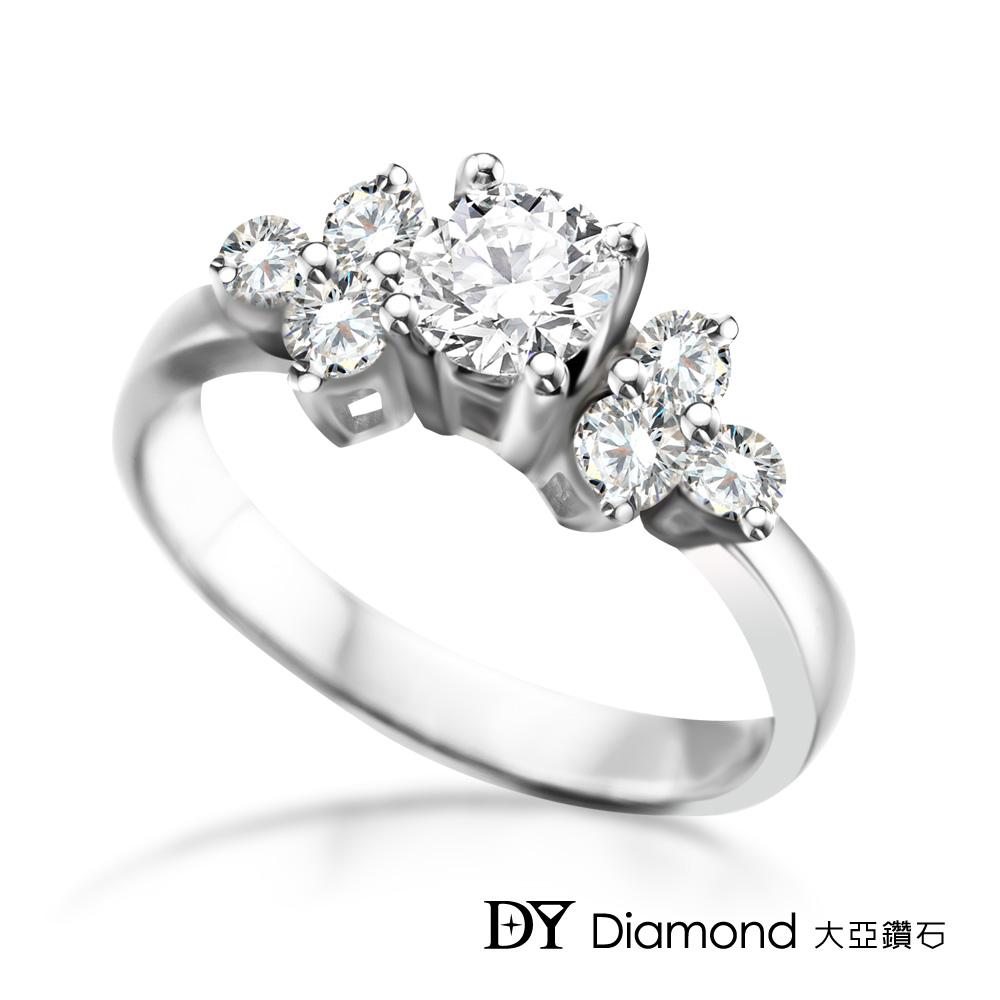 DY Diamond 大亞鑽石 18K金 0.60克拉 D/VS1 求婚鑽戒