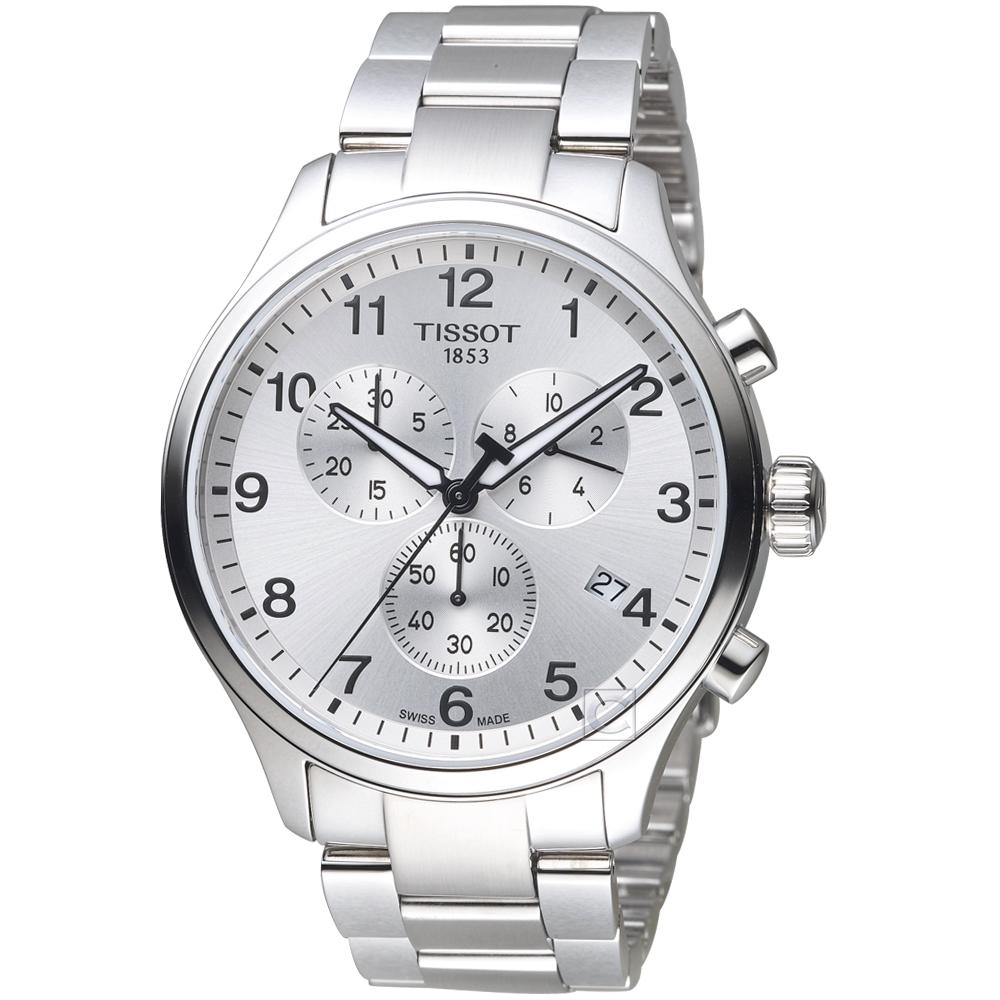 TISSOT天梭Chrono XL韻馳系列經典計時腕錶(T1166171103700) @ Y!購物