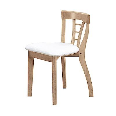 Bernice-米朗羅實木化妝椅/單椅-40x35x70cm