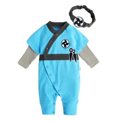 Baby童衣 日本忍者造型連身衣贈頭帶 92033