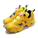 Reebok 休閒鞋 Instapump Fury MU 男女鞋 經典款 充氣科技 情侶穿搭 小小兵 黃 藍 FY3404 product thumbnail 1