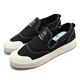 adidas 休閒鞋 Nizza RF Slip On 女鞋 海外限定 愛迪達 三葉草 無鞋帶 懶人鞋 黑 白 EF1411 product thumbnail 1